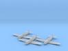 Heinkel He 100D 1:200 x3 FUD 3d printed