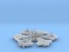 Stargate Atlantis city - 9cm FUD 3d printed