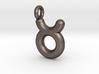 Taurus Symbol Keychain 3d printed