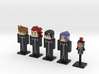 Organization XIII- Days 5-pack (Weaponless) 3d printed