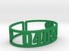 Mataponi Zip Cuff 3d printed