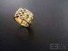 Endless Knot Ring (Multiple Sizes) 3d printed