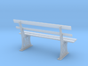GWR Bench 7mm scale O gauge 3d printed