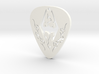 Skyrim Guitar Pick 3d printed