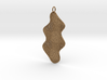 Texture Earring #4 3d printed