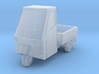 Ape 50 Pritsche/flat bed (TT-Scale, 1:120) 3d printed