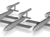V-1 Flakzielgerät 76 Flying Bomb 1:200 x3 (FUD) 3d printed
