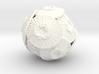 Coccolithus Sculpture 10cm  3d printed