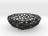 Bowl (19 cm) - Voronoi-Style #4 3d printed