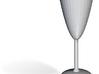 Parabolic Shot Glass 3d printed
