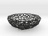 Mini Key shell / bowl (8 cm) - Voronoi-Style #1 3d printed