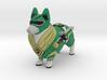 Green Ranger Corgi 3d printed