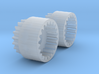 Alco C-855 Drive Shaft Extenders (new) - N Scale 3d printed