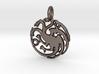 Targaryen Sigil Keychain 3d printed