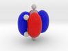 Benzene Orbital (HOMO) 3d printed