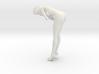 1:10 Nude Girl standing stoop 3d printed