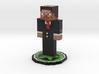 Steve in Suit 3d printed