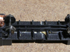 Western Pacific (WP & SN) Caboose N Scale 3d printed Modified Atlas Chassis