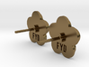 earringpin set Flower Your Day 3d printed