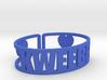 Kweebec Cuff 3d printed