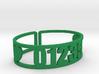 Romaca Zip Cuff 3d printed