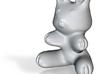 Ceramic Bunny (3 in./7.62cm) 3d printed