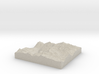 Model of Crystal Lake 3d printed