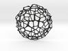Coaster - Voronoi #9 (20 cm) 3d printed