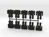 Game Piece, Assault Mech, 10-set 3d printed