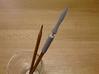 Yari (Japanese spear) Pen Cap 3d printed Yari (Japanese spear) Pen Cap (Alumide)