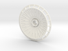BBS Wheel Cover/Fan With Spokes 3d printed