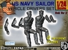 1-24 USN Sailor Driver Set1 3d printed