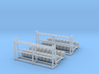 Rack With Tires Z Scale 3d printed 2 tire racks Z scale