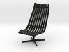 Scandia Senior Chair 1/12 Scale 3d printed