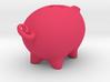 PPB[02] big positive piggy bank 3d printed
