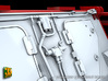 2S7 PION Rear Wall Update set (1:35) 3d printed 2S7 PION Rear Wall Updat set - detailed hydraulic lines