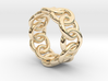 Chain Ring 19 – Italian Size 19 3d printed
