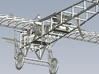 1/15 scale Bleriot XI-2 WWI model kit #4 of 4 3d printed
