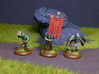 Goblin Command Squad 3d printed Goblin command squad printed in Hi-Def Acrylate