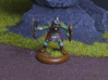 Goblin Command Squad 3d printed Goblin champion  printed in Hi-Def Acrylate