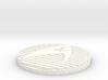 Kirk Generations Vest Zip Tab/Button 3d printed