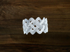 Turk's Head Knot Ring 4 Part X 12 Bight - Size 14. 3d printed