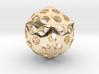 Deltoidal Hexacontahedron Roller 3d printed