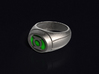 Green Lantern Ring 3d printed 3D render of the ring. Does not come with enamel paint applied.