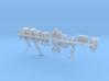 1/285 Scale WW2 SeaBees Equipment 3d printed