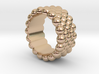 Bubbles Round Ring 19 – Italian Size 19 3d printed