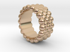 Bubbles Round Ring 27 – Italian Size 27 3d printed
