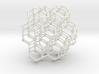 Bitruncated Cubic Honeycomb Sacred Geometry 80mm  3d printed