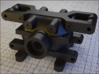 PIECE-A-differential-box 3d printed RC car - differential - piece A+ B