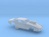 1/43 Pro Mod 73 Camaro Flat Hood W Scoop 3d printed
